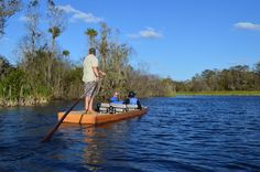 Boat Tour Florida's Everglades by Traditional Pole Boat, Kayak, or Canoe