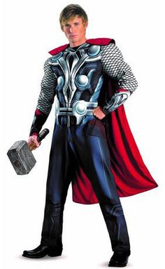 The newest Avengers movie sees some great opportunities for some amazing costumes. Fancy yourself as the black widow? Or fancy your man in a Thor costume? This is the perfect inspiration for you. A super group costume idea.