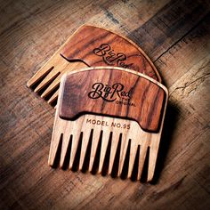 Beard Comb No.95 by Big Red Beard Combs