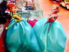 Frozen Fever Anna & Elsa Table Centerpiece