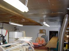 When it comes to finishing off your basement and finding the right materials to make your basement feel complete Basement Ceiling Insulation, Basement Ceiling Options, Ceiling Ideas, Basement Renovations, Home Remodeling, Acoustic Ceiling Tiles, Types Of Ceilings, Ceiling Treatments, Small Basements