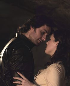 Sir Guy of Gisborne & Lady Marian HE is the one you really want, you foolish girl!!!!