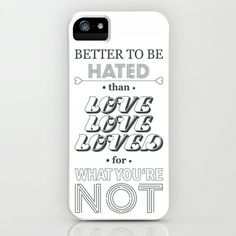 I Am Not A Robot ; Marina and the Diamonds (alternative II) iPhone & iPod Case by Marvin Fly - $35.00