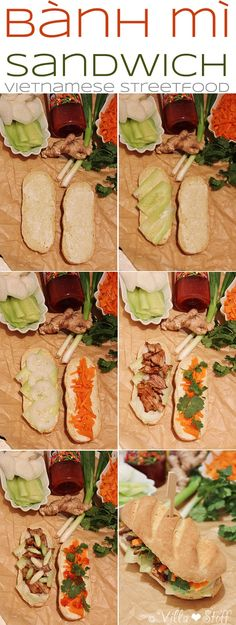 Rezept | how-to-build a Bánh mì Sandwich (Homemade Vietnamese Streetfood)