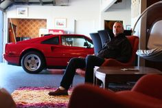 Garage 77 and Ferrari 308 with it´s owner Brian Article Writing, Ferrari, Garage, Cars, Carport Garage, Autos, Garages, Car, Automobile