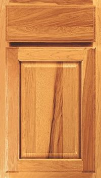 Aristokraft Pioneer Door Style. Available In Hickory With A Few Finishes:  Natural, Wheat