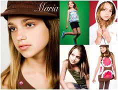 comp cards for models | Sample: Kid's Comp Card (Modeling)