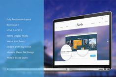 Multi-Purpose Bootsrap Theme by IceTemplates on Creative Market