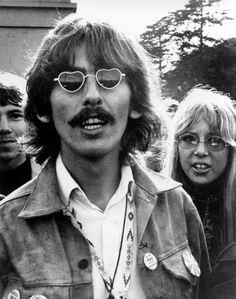 George Harrison in San Francisco, 1967.
