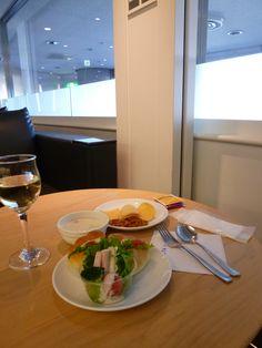 """DELTA Lounge"", Tokyo(Narita) Aeroporto, Japan (Novembre)"