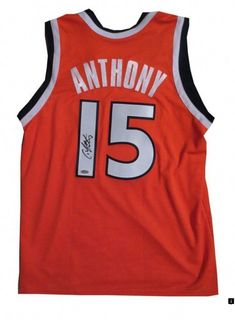 Carmelo Anthony Signed Syracuse Jersey from Powers Autographs fdfbbfaf1
