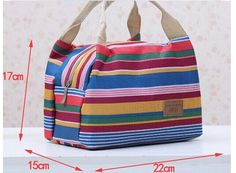 Portable Folding Fresh Keeping Cooler Bag Lunch Bag For Food Fruit Seafood Steak Hot/Cold Thermal Insulation Bag Ice Pack Bag Quilt, Bags 2015, Picnic Bag, Bag Patterns To Sew, Quilted Bag, Fabric Bags, Kids Bags, Cloth Bags, Small Bags