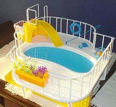 1985 Barbie pool