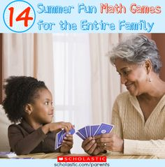 Play these fun games anywhere you go this summer, and your kids won't realize they're practicing math!