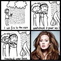 Adele - Set fire to the rain