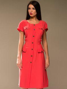 Большие размеры платьев сафари
