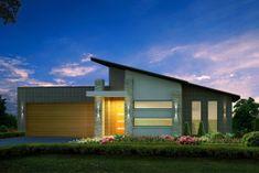 Facade house a modern apartment Roof Design, Exterior Design, House Design, Facade House, House Roof, Bungalow Haus Design, Modern House Facades, Small Modern Home, House Front Door