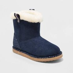 Cat /& Jack Toddler Girl/'s Molly Cat Fashion Boots Blue Size 5,6,7,10