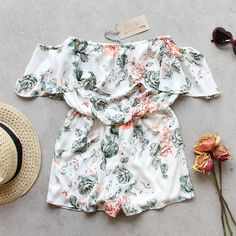 Faded Bloom Romper, Summer Rompers from Spool 72. | Spool No.72