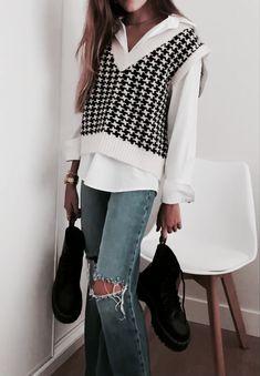 Mode Outfits, Winter Outfits, Fashion Outfits, Womens Fashion, Fashion Hacks, Jeans Fashion, Fashion Tips, Fashion 2020, Look Fashion
