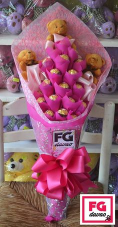 Madly In-Love Pink Themed Chocolate Bouquet Flowers Gifts Delivery 0998 579 5720 www.FGDavao.com #chocolates #chocolatebouquet #sweets #sweetgift #sweetsurprise #bouquetofchocolates #gift #giftshop #stuffedtoys #tinybears #giftsph #sendgifts #giftdelivery #arts #crafts #fg #fgdavao #davao #shop #phybouquet #stuffedtoys #tinybears #giftsph #sendgifts #giftdelivery #arts #crafts #fg #fgdavao #davao #shop #ph