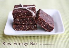 Cashew, Almond & Cocoa Raw Energy Bar - worth a try