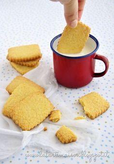 Biscotti di mais per la prima colazione