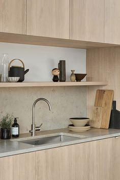 Kitchen Interior, Kitchen Decor, Kitchen Design, Kitchen Pantry, New Kitchen, Villa Design, Living Room Kitchen, Interior Inspiration, Home Kitchens