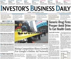 """Investor's Business Daily (IBD) newspaper was founded by investor William O'Neil. He writes in his book How to Make Money in Stocks that """"for..."""