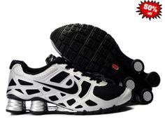 JVFY 2014 Nike Shox Turbo 12 Homme Noir/Argent 614023