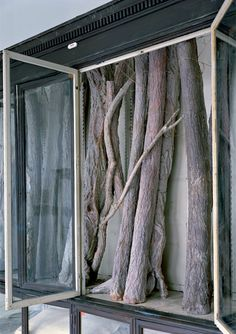 Berlinde De Bruyckere, '019', 2007 (detail - wax, epoxy, metal, glass, wood, blankets)