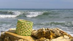 sea glass vase
