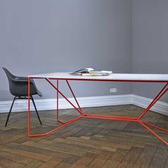 metal frame dining table VICTOR FOXTROT   SAME SAME marmor   Tisch   selekkt.com