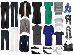Capsule Wardrobe Layout - the 333 project  |  I doubt I can get my wardrobe to so small, but I have hopes of getting close to it. I did it the summer I went camping. It was easy.