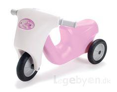 Køb Dantoy Scooter / Skubber med gummihjul i prinsesse farver - fra 2 år. online - Dantoy