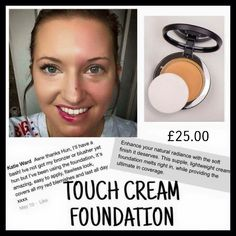 Mineral touch foundation! Wow what coverage!! Amazing!!