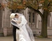 Classic 9 foot cathedral length veil with or without blusher, created to your specifications.