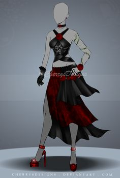 (closed) Auction Adopt - Outfit 526 by CherrysDesigns.deviantart.com on @DeviantArt