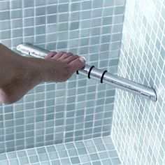 Impey Corner Shower Foot Rest Chrome