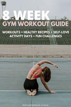 Gym Workout Guide, Week Workout, Fun Workouts, At Home Workouts, Fun Challenges, Activity Days, At Home Gym, Workout For Beginners, Self Love