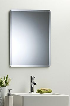 Bathroom Mirrors Amazon octagon bathroom wall mirror modern stylish with bevel plain 2