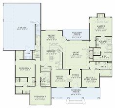 Southern Style House Plans - Plan 12-446
