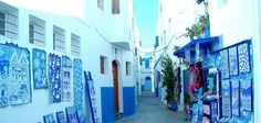 Asilah, pearl of Morocco, located south of Tanger. www.asilahventures.com
