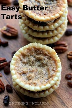Easy Butter Tarts by Noshing With Nolands