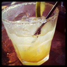 Passion Fruit Margarita at Hudson's Seafood Restaurant Hilton Head, SC