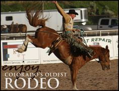 Experience the thrill of bull ridng and a whole host of other events during Colorado's oldest Rodeo at Meeker Range Call!