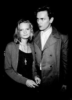 River Phoenix and girlfriend Martha Plimpton at the premiere of his movie Dogfight in 1991