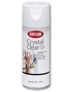 Crystal Clear Acrylic - | Krylon for protecting glass frosting spray from getting scratched.