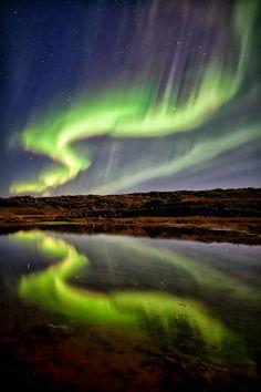 Sign from the Aurora by Gunnar Gestur Geirmundsson, via 500px