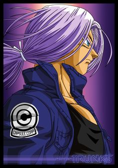 Future Trunks DBZ fan art